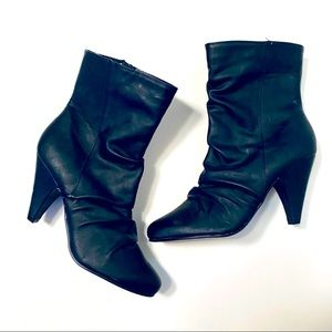 4 for $20 George Ankle Black Booties